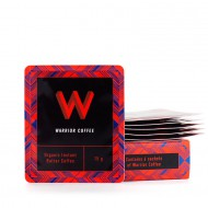 Warrior Coffee -Instant voikahvi, Original, Luomu, (6 x 15g)